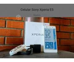 Se vende Sony Xperia E5 casi nuevo, Región Metropolitana