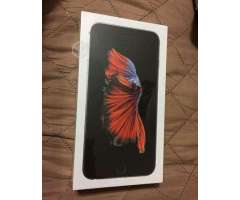 IPhone 6s plus space gray 128gb sellado con boleta, Región Metropolitana