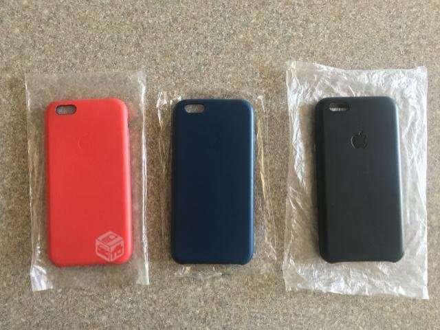 30e777e0b61 Celulares Carcasas de cuero para iPhone 6/6S/7/PLUS con logo ...