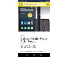 Vendo celular alcatel pixi 3 soy de quinta normal, Región Metropolitana