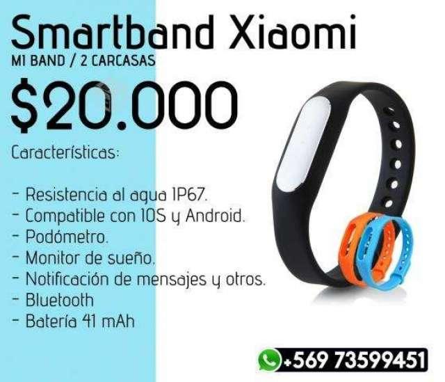 Smartband Xiaomi Mi Band + 2 Correas, XIV Los Ríos