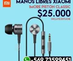 Audifonos 1More Xiaomi Piston Classic, XIV Los Ríos