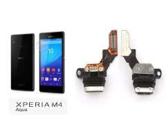 Flex De Carga Sony Xperia M4 Aqua E2303 E2353, Región Metropolitana