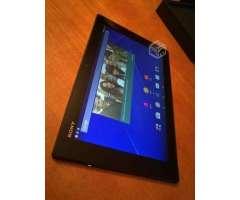 Tablet Sony Xperia Z pantalla 10.1, III Atacama