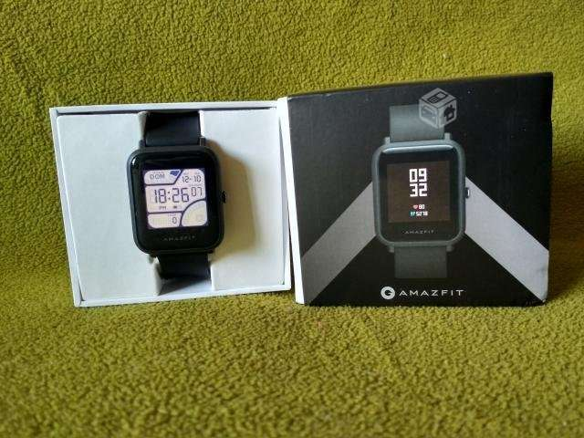 cb3e25ee9009 Celulares Xiaomi AMAZFIT BIP Negro Smartwatch Reloj Santiago en ...