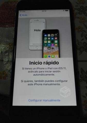 Iphone 6 32 gb en exceente estado + 2 carcasas