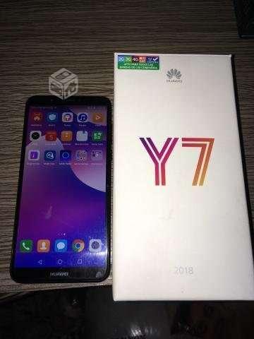 Huawei y7 2018 poco uso
