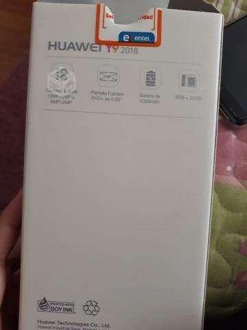 Huawei y9 2018 black conversable.