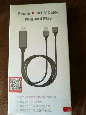 Cable HDTV para iPhone
