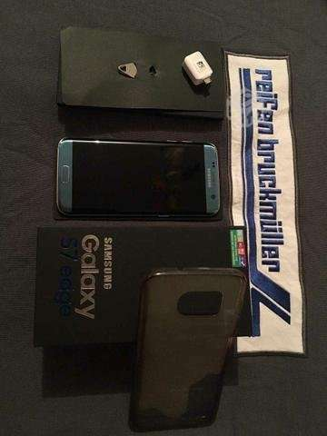 Samsung s7 edge azul coral