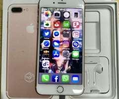 Iphone 7 plus RoseGold Prepago (por renovacion)