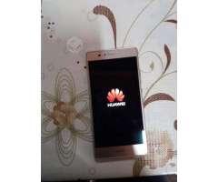 Teléfono Huawei p9 lite dorado