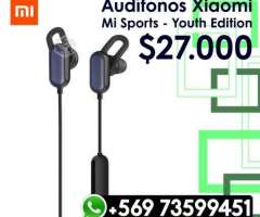 Audifonos Bluetooth Xiaomi Mi Sports Youth Edition - Valdivia