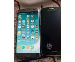 Celular Samsung S6 Edge y S7 Edge funcionando - Peñalolén