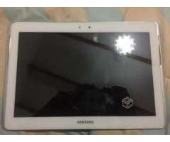 Tablet samsung tab2 10.1 con cargador original - Coquimbo