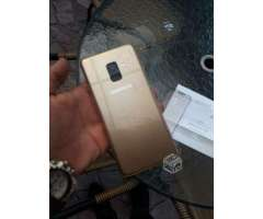 Samsung A8 gold - Ñuñoa