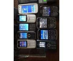 Lote celulares y blackberry todos por 35 - Viña del Mar