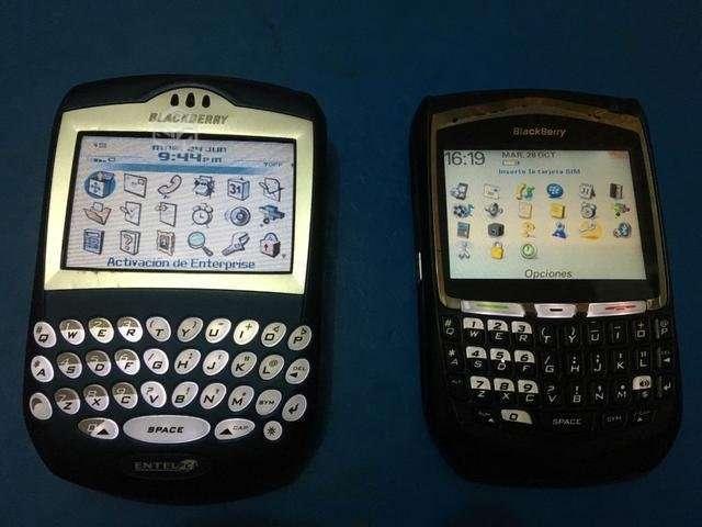 Blackberry 8700g Y 7290 Funcionando - San Miguel