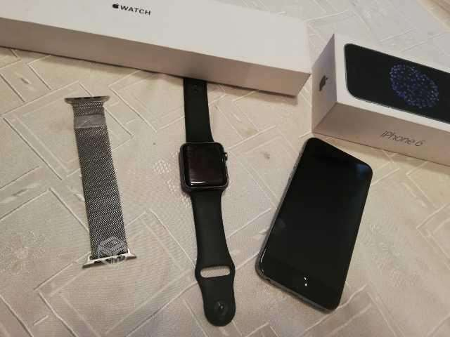 IPhone 6 32gb + Apple watch sport - Santiago