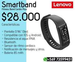 Smartband Lenovo + Audifonos Syllable D3x - Valdivia