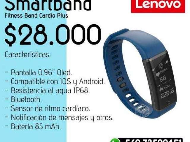 Smartband Lenovo + Audifonos Xiaomi Mi Sports YE - Valdivia