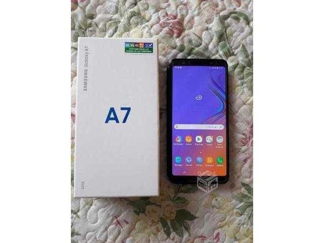 Samsung A7 2018 impecable - Concepción