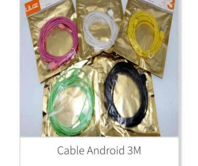 Cargador iphone 3 metros - Coquimbo