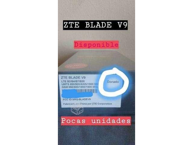 Celular ZTE Blade V9 Dorado - Santiago