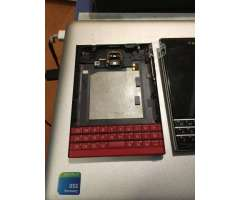 Carcasa original Blackberry Passport Rojo - Santiago