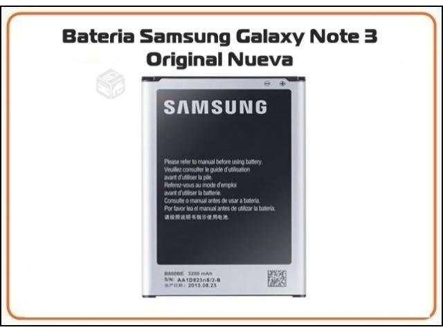Bateria Samsung Note 3 Original Nueva - Santiago