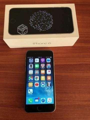 Iphone 6 32gb, impecable, caja, cargador, m.libres - Concepción