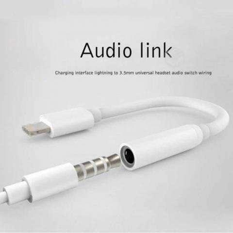 Adaptador Lightning iPhone 7, 8 a Audífono - Independencia