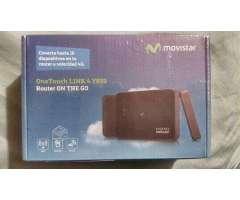 Modem 4G Alcatel portatil - Concepción