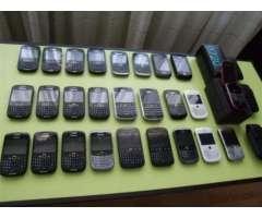 Lote Equipos Accesorios Blackberry - Santiago