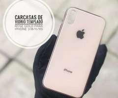 Carcasas iPhone 7/8 plus X/XS MAX vidrio templado - San Pedro de la Paz