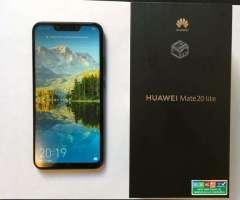 Huawei Mate 20 Lite 64gb. 1 mes de uso. Nuevo - San Pedro de la Paz