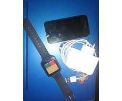 Iphone 4 con batería mala + smartwatch - Pudahuel