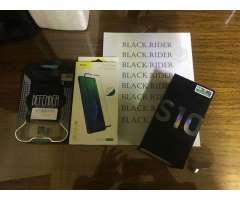 Samsung S10 Prism Black Como Nuevo Boleta Y Acc - Curicó
