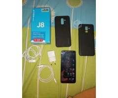 Samsung j8 dorado - Independencia