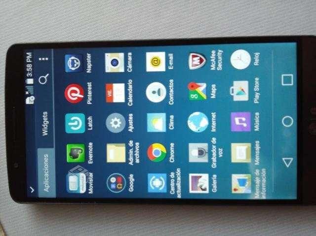Celular LG ,modelo G3, detalle tactil - Coquimbo