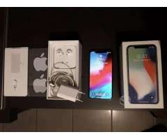 IPhone X silver con boleta comprado en el extranj - Quinta Normal