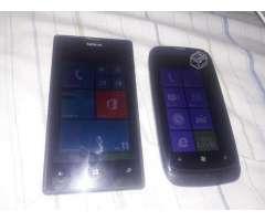 Nokia Lumia 520 y 610. - Santiago