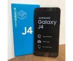 Samsung j4 duos dorado nuevo - Viña del Mar