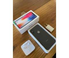 IPhone X 256gb Space gray con boleta de compra - Providencia