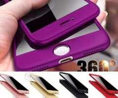 Carcasas 360 iPhone + Lámina De Vidrio Templado - Providencia