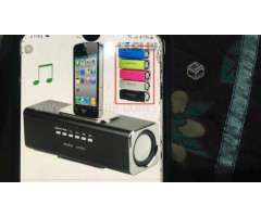 Mini altavoz portable de musica para iphone - San Miguel