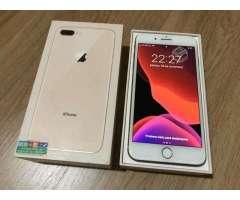 IPhone 8 Plus gold 64gb con boleta - Temuco