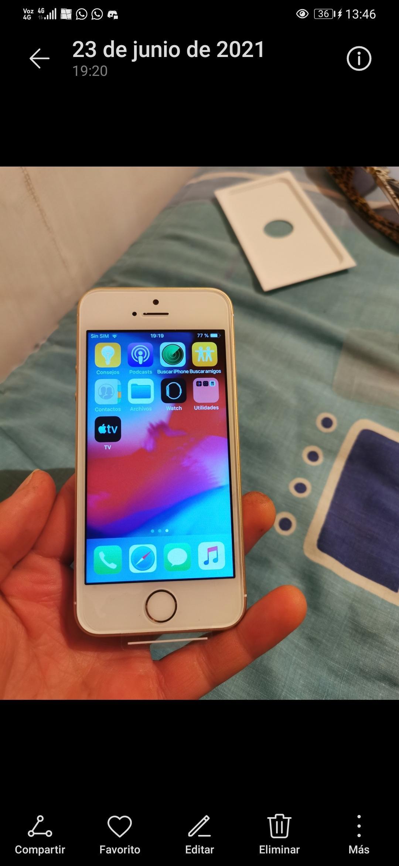 Iphone 5s 32 gb gold nuevo